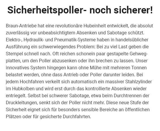 Sicherheitspoller in 67547 Worms